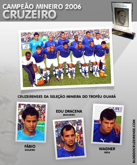 Cruzeiro é premiado como Campeão Mineiro pelo 44º TroféuGuará