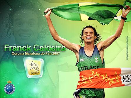 Franck Caldeira, ouro no Pan