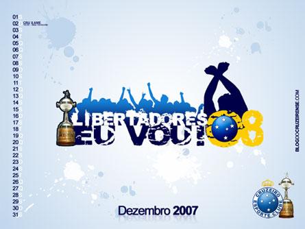Calendário Dezembro: Libertadores Eu Vou!