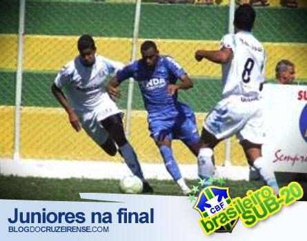 Guerreiros na final do BrasileiroSub-20