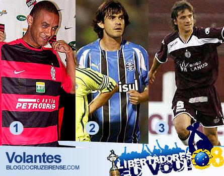 Pacotão de Natal para Libertadores ´08 - Volantes