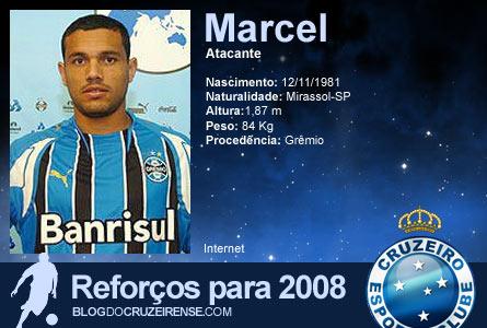 Reforços para 2008:Marcel