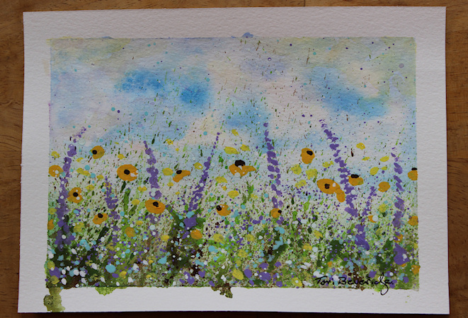 Splatter Wildflowers by Tori Beveridge3