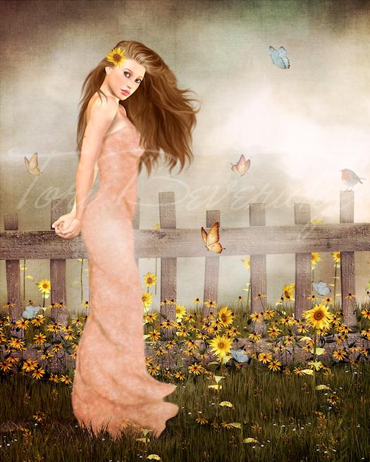 Sunflower Morning by Tori Beveridge 2013