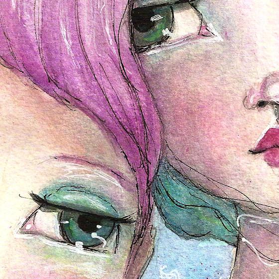Two Girls by Tori Beveridge CUDetail