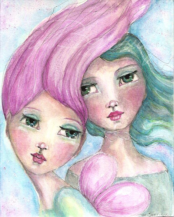Two Girls by Tori Beveridge
