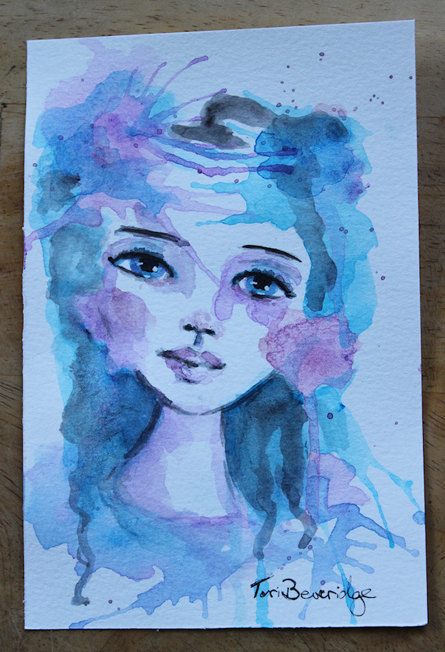 painting 12 by tori beveridge 2016