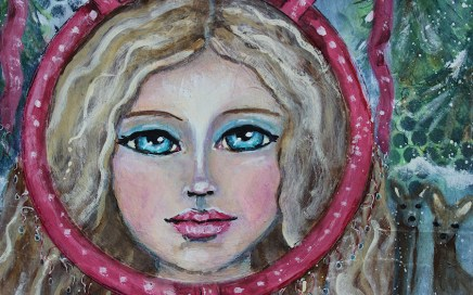 Red Circle by Tori Beveridge CU