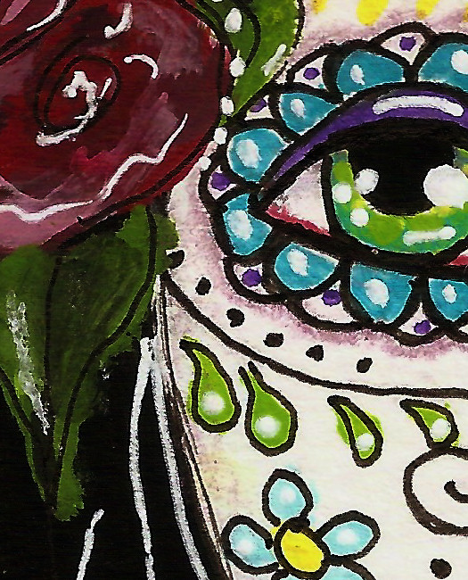 day of the dead girl by tori beveridge detail 2