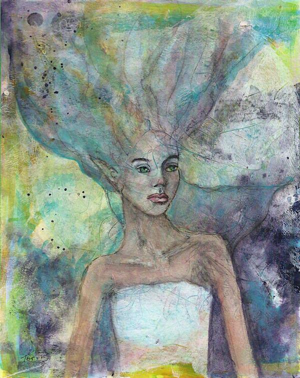 A Mermaid by Tori Beveridge