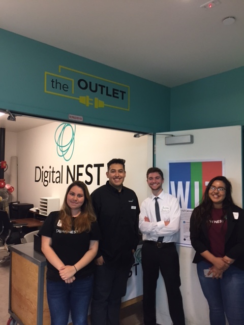 NEST Members get a preview of the Salinas space