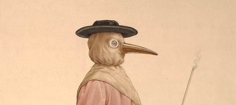 17th century plague doctor