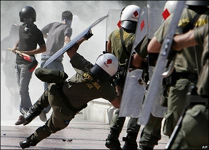 Nemiri u Grčkoj decembra 2008