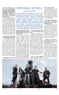 Interview by Bruce Mee - Fireworks Rock&Metal