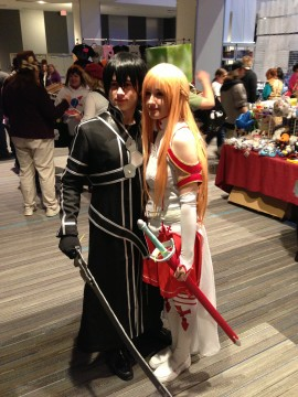 Ohayocon 2013 - Asuna x Kirito - Sword Art Online 2