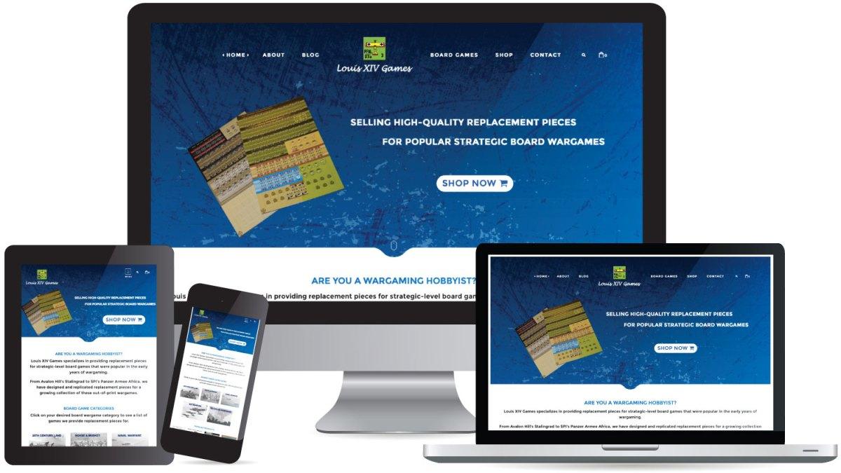 CryoDragon (Kitchener Waterloo Cambridge) Website Design Louis XIV Games