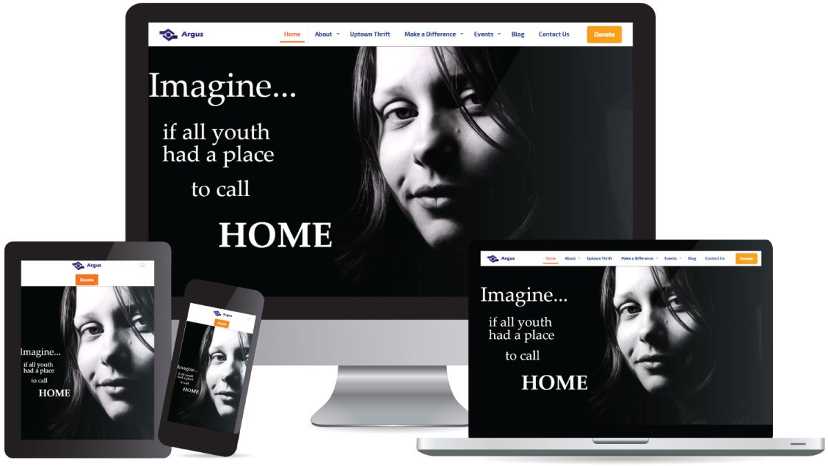 CryoDragon (Kitchener Waterloo Cambridge) Website Design Argus Residence