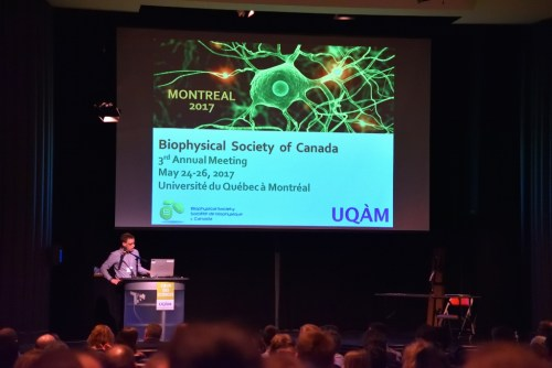 CryoDragon at BSC 2017 Meeting in UQAM Montreal