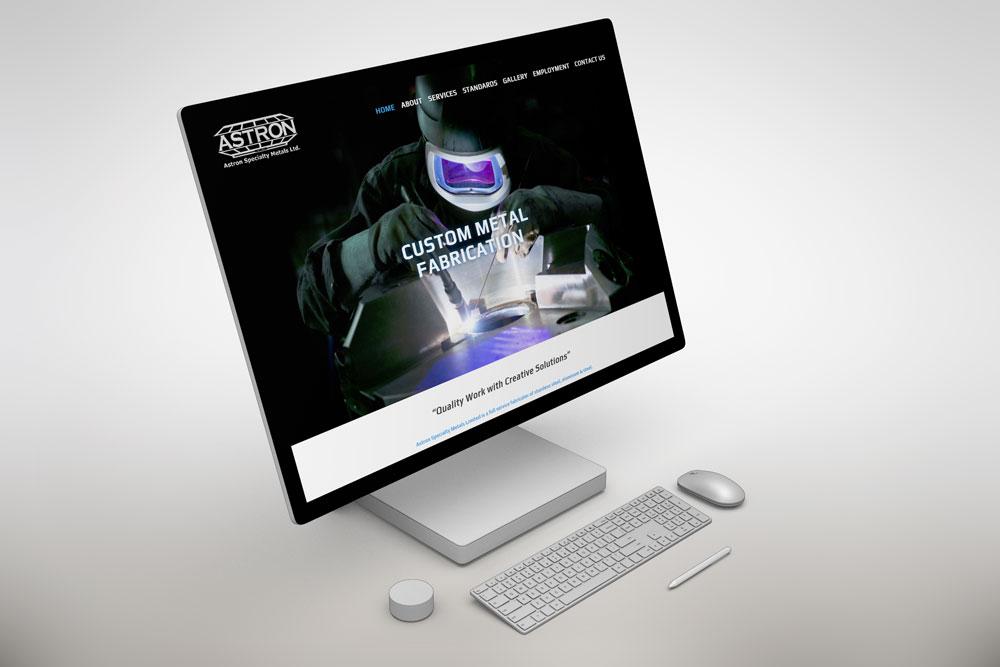 CryoDragon (Kitchener Waterloo Cambridge Website Design) Astron Specialty Metals