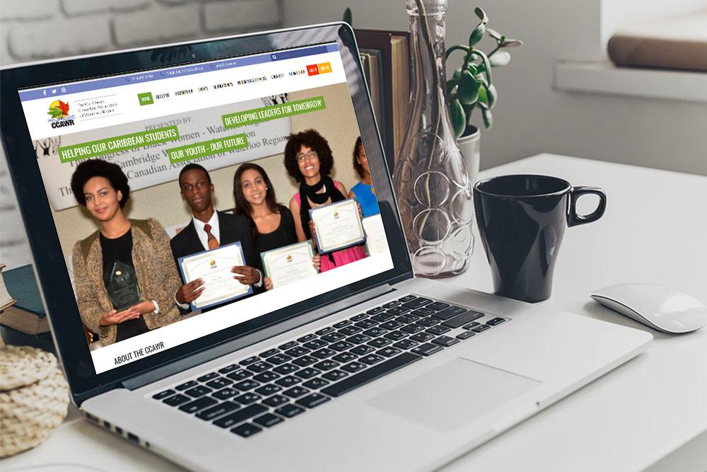 CryoDragon Website Design (Waterloo Kitchener Cambridge) Canadian Caribbean Association of Waterloo Region