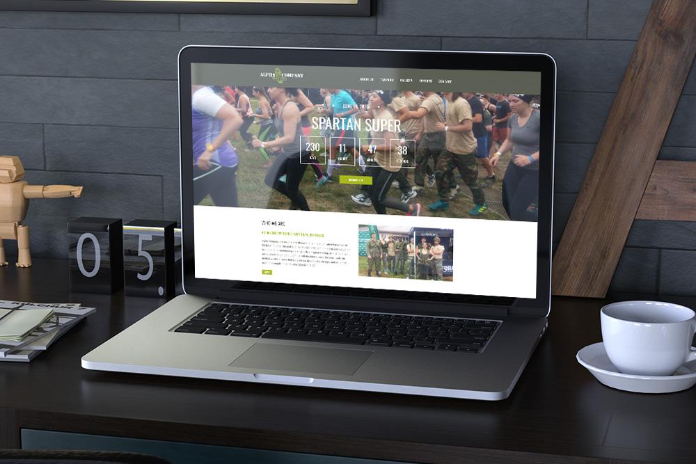 CryoDragon Website Design (Waterloo Kitchener Cambridge Guelph) Alpha Company Training