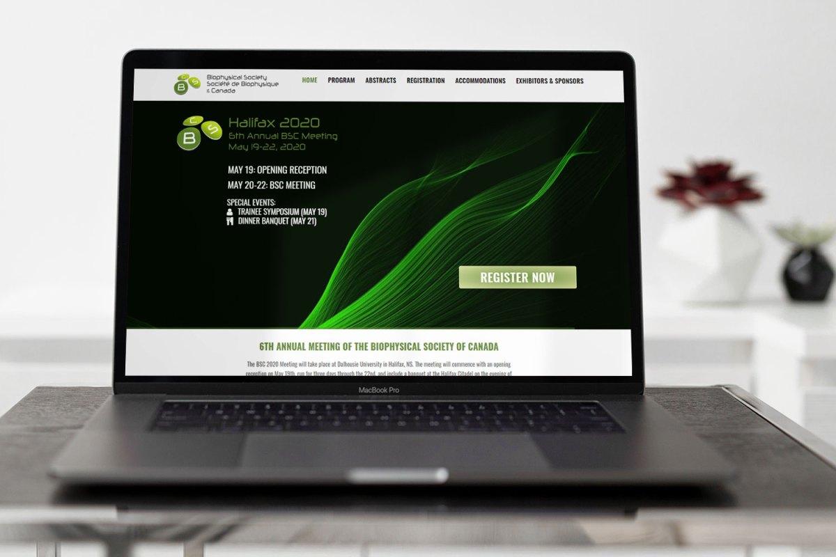 CryoDragon Kitchener Waterloo Website Design BSC Conference Website