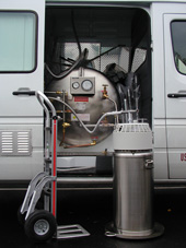 Truck Mounted Cryogenic Transportation