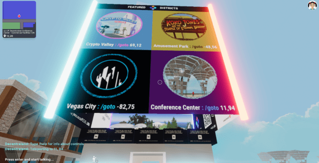 A new cryptocurrency conference in virtual reality: You spend the night in clubs!
