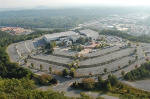 Dalton's kick ass convention center sits on a mountain overlooking the city and the highlands!
