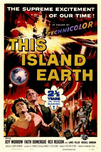 Film1955-ThisIslandEarth-OriginalPoster