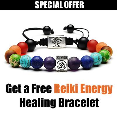 Free Reiki Energy Healing Bracelet