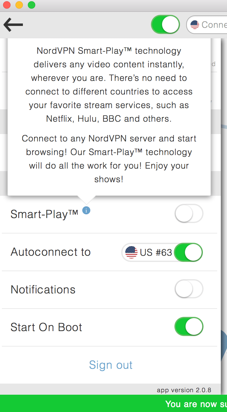 NordVPN Smart Play Unblock Netflix