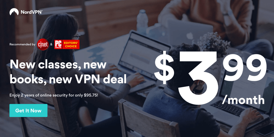 NordVPN Deal 66% discount 2018