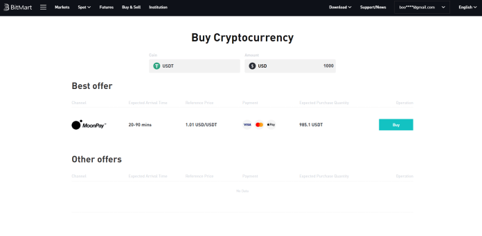 How to Buy Safemoon in BitMart? - A Step by Step Guide