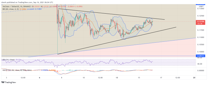VeChain Price Prediction September 2021: Can We Expect A Breakout For VET