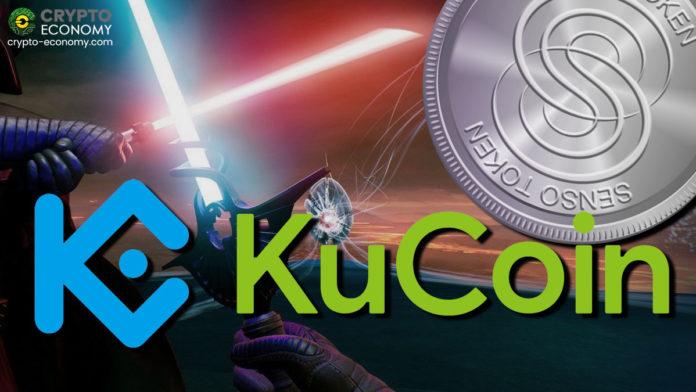 KuCoinはSensorium [SENSO]を取引プラットフォームに追加します