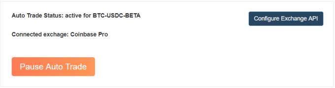 Auto Trade BTC Beta