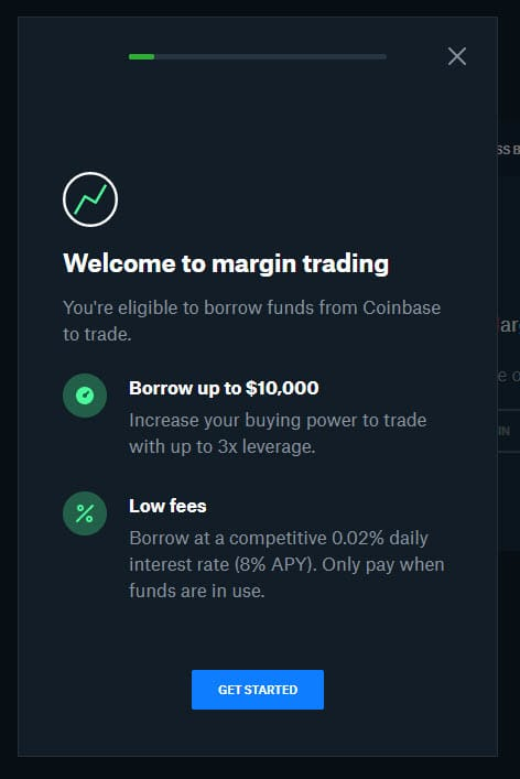 Coinbase Pro Relaunches Margin Trading 2