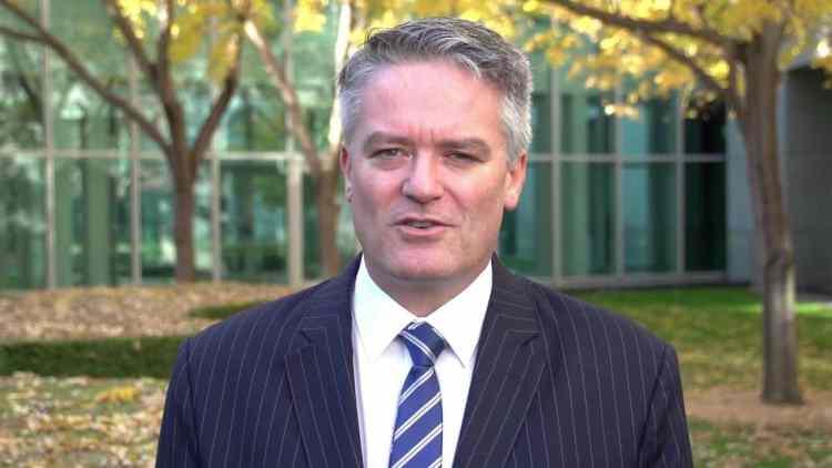 Australian Finance Minister Hon Mathias Cormann