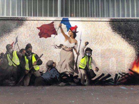 Paris street puzzle bitcoin