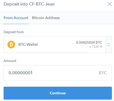 cumparati bitcoin stock td ameritrade
