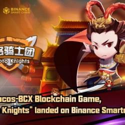 """تم إطلاق لعبة """"Crypto Knights"""" رسميًا على Binance Smart Chain"""