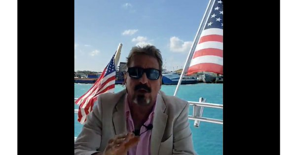 John McAfee Fugitive Follies