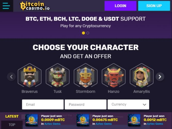 Online bitcoin casino android real money