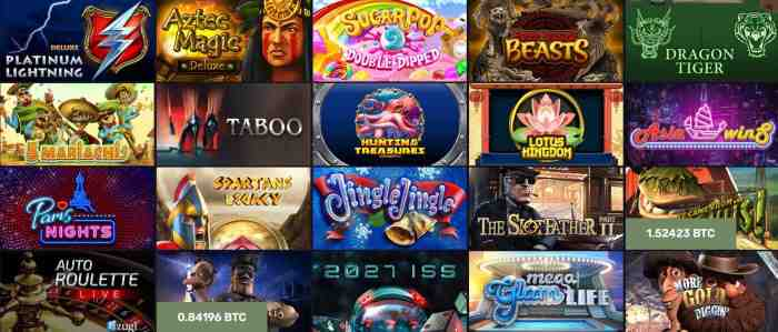 Blue max casino games