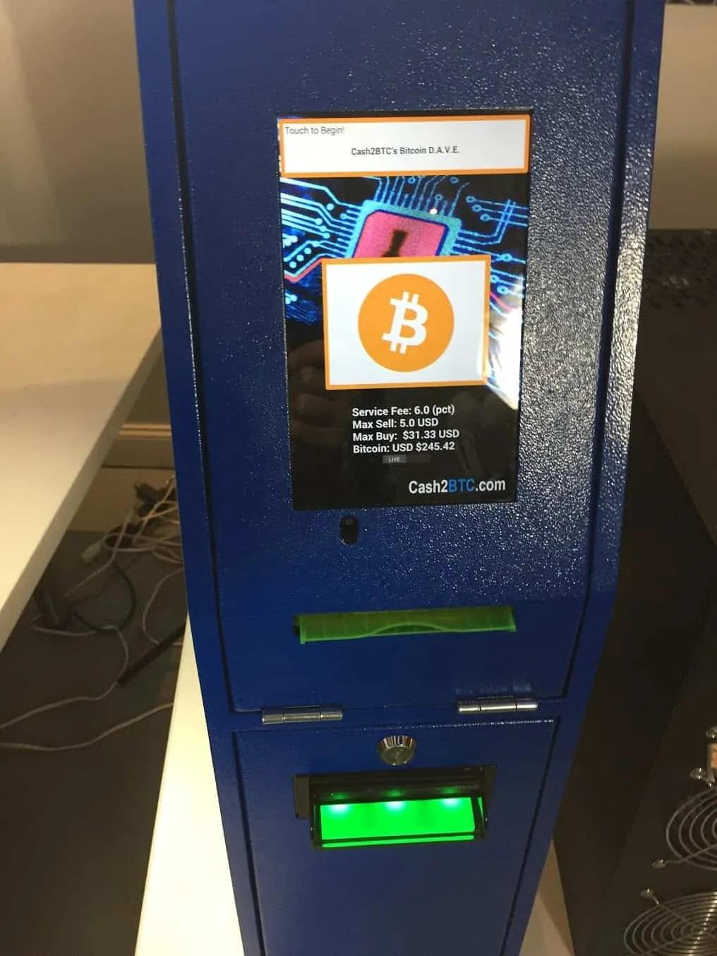 Cash2btc Bitcoin Atm Btm