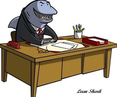 bitcoin loan shark