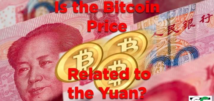 Bitcoin price Yuan related