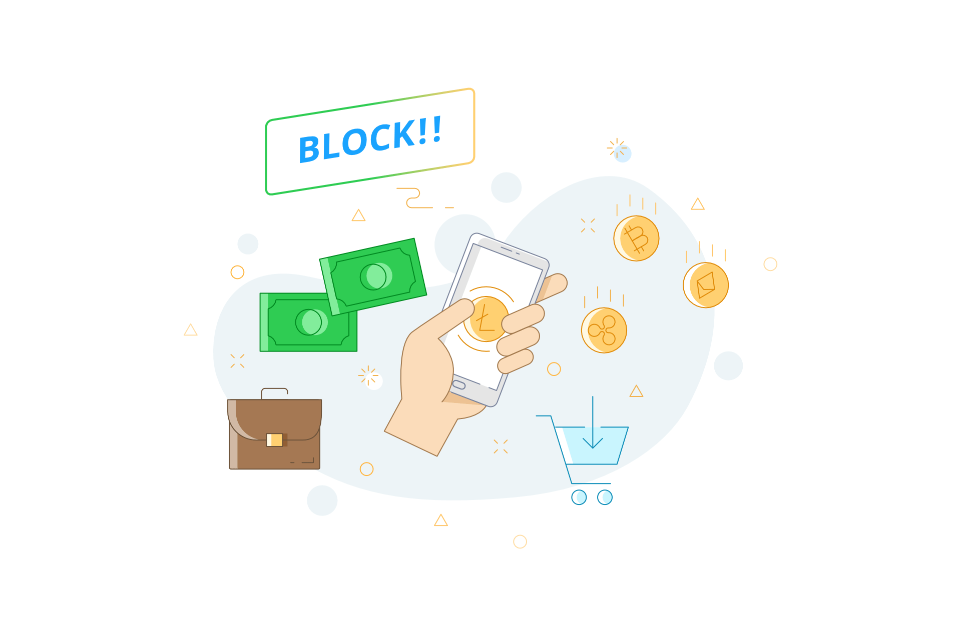 block coin giveaway