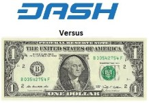 Dash vs Usd